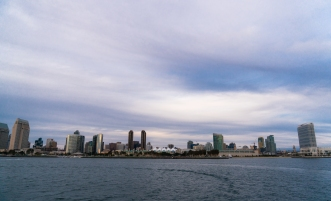 San Diego Skyline from the Coronado Ferry