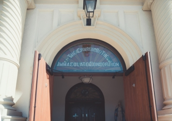 The Church of the Immaculate Conception - Entrance